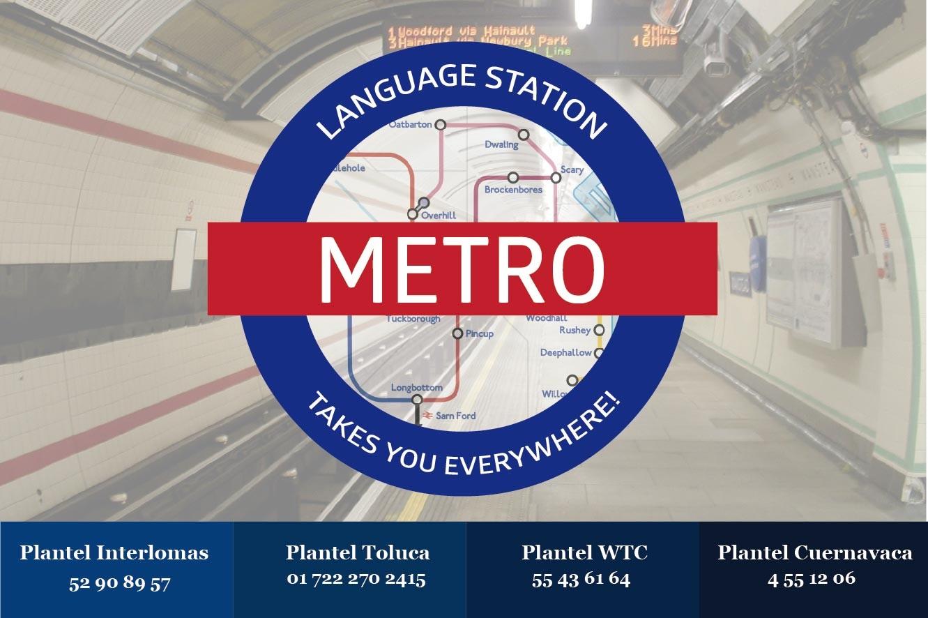 Diseño Logo Metro